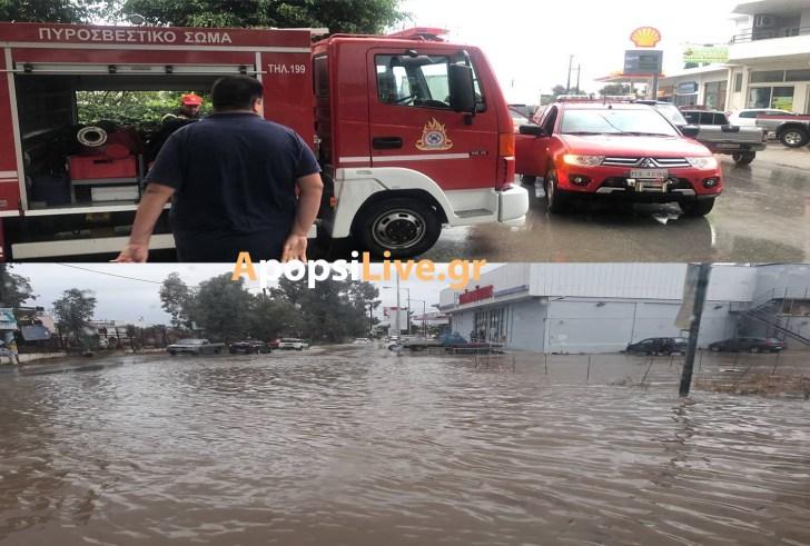Η κακοκαιρία «Βικτώρια» έφερε πλημμύρες & καταστροφές στηΜεσαρά (φωτορεπορτάζ)