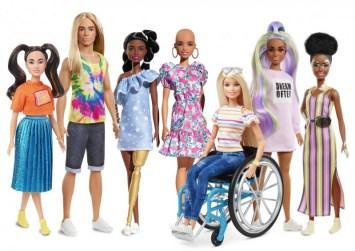 Κούκλες χωρίς μαλλιά, με προσθετικά μέλη & με λεύκη στη νέα κολεξιόν της Barbie για το 2020