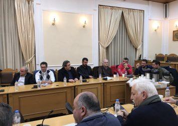 Παρών στη σύσκεψη για την Πολιτική Προστασία της Κρήτης ο Νίκος Ηγουμενίδης