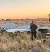 Το drone της FRONTEX έπεσε στο Αεροδρόμιο Τυμπακίου