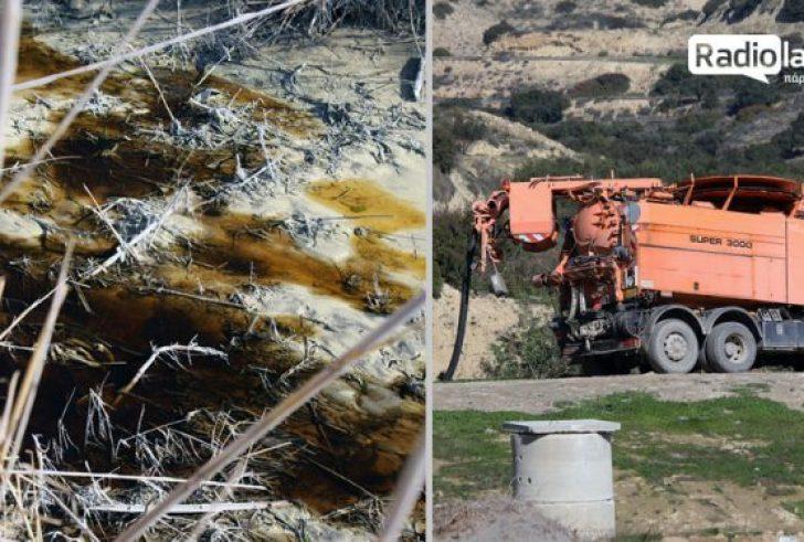 Το μαύρο ποτάμι της Ιεράπετρας και τα λύματα απ' τη «δεξαμενή» του Δήμου (βίντεο)