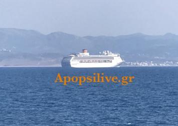 Έντονες ανησυχίες για τα κρουαζιερόπλοια που πλέουν στα νότια παράλια της Κρήτης