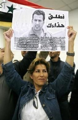 Periodistas en el Libano piden la liberación de Al Zeidi