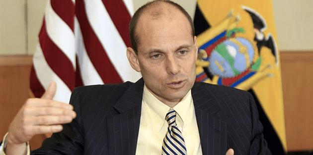 El nuevo embajador de Estados Unidos en Quito, Adam Namm.