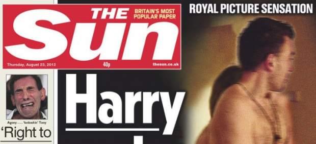 """Solo el periódico """"The Sun"""" publicó una imagen editada parecida"""