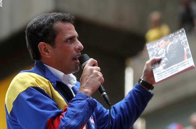 Capriles Radonski, disfrazado