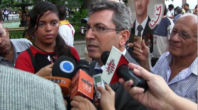 Ghassan Abbas embajador  de Siria en Venezuela