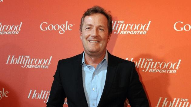 El presentador de la cadena CNN Piers Morgan