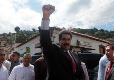 El vicepresidente de la República, Nicolás Maduro