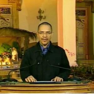 El ministro Ernesto Villegas