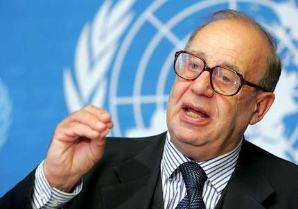 Jean Ziegler, vicepresidente del Consejo consultivo de Derechos Humanos de la ONU.