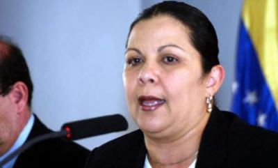 La ministra del Poder Popular para la Educación Superior Yadira Córdova