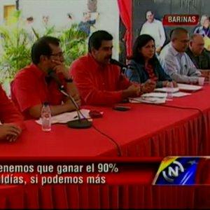 Vicepresidente Maduro en Barinas