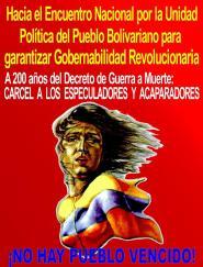 Encuentro Nacional por la Unidad Política del Pueblo Bolivariano