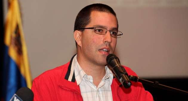 El Vicepresidente Jorge Arreaza