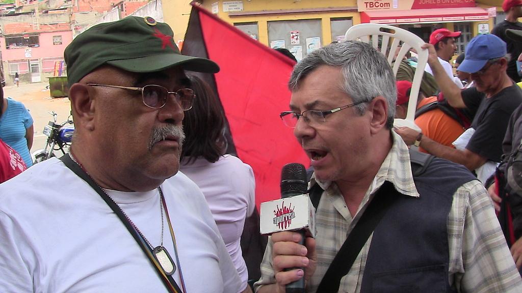 Representante de la Casa Cultural Alameda en la rueda de prensa en San Agustín del Sur