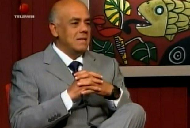 """El jefe del Comando de Campaña """"Hugo Chávez"""" Jorge Rodríguez"""