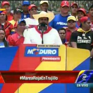 Maduro en Trujillo
