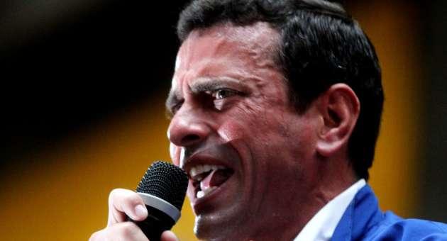 Ya se sabe lo que significan los anuncios de Capriles Radonski