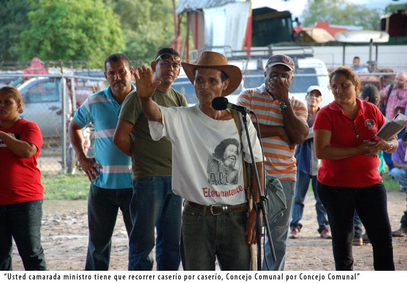 Actividad del Gobierno de Calle en la Comuna Socialista El Maizal