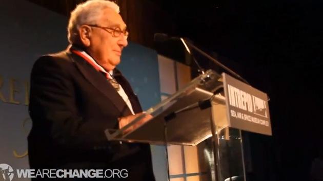 El ex secretario de Estado estadounidense, Henry Kissinger