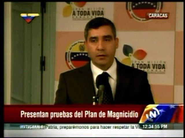 El ministro del Poder Popular para las Relaciones de Interior y Justicia, Miguel Rodríguez Torres