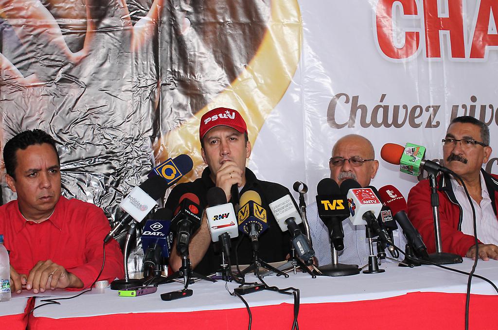 Tareck El Aissami anunció los 14 candidatos a las alcaldías de Carabobo
