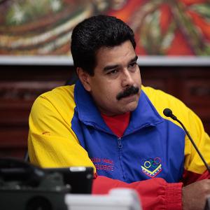 Presidente Maduro en Miraflores