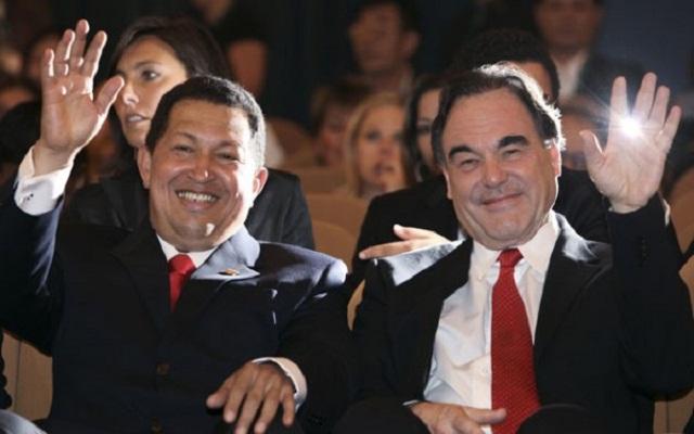 Chávez y Oliver Stone