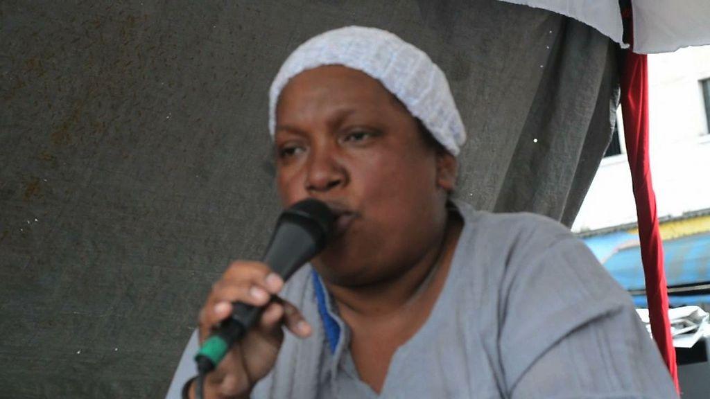 Margarita desde la parroquia la Vega nos dice por qué apoya a La Revolución Bolibariana
