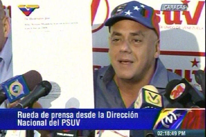 Jorge Rodríguez, alcalde del municipio Libertador