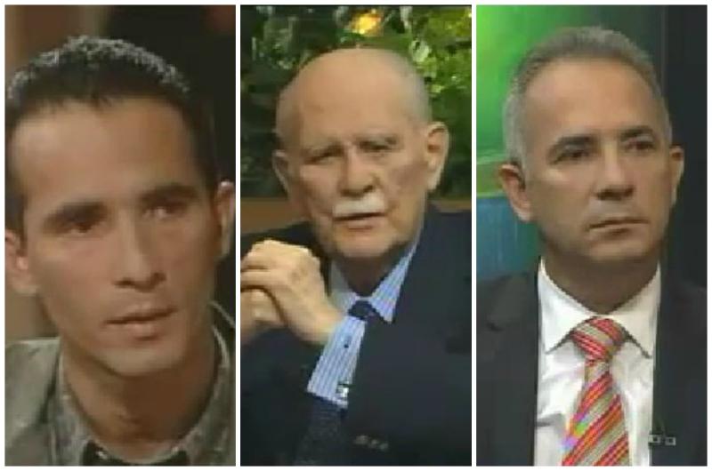 Freddy bernal entrevistado por José Vicente Rangel.