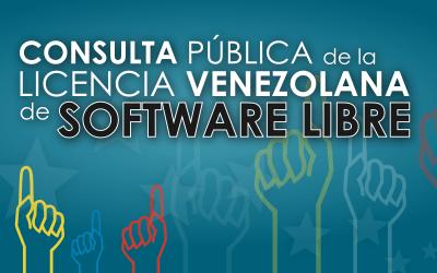 Inicia proceso de Consulta Pública de la Licencia Venezolana de Software Libre