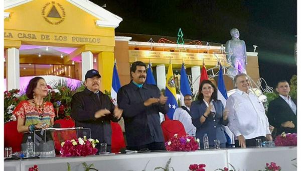 Toma de posesión de Daniel Ortega en Nicaragua
