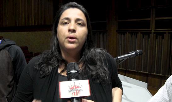 Mercedes Tobón de Marcha Patriótica de Colombia en el II Taller de Verano, Geopolítica en América Latina