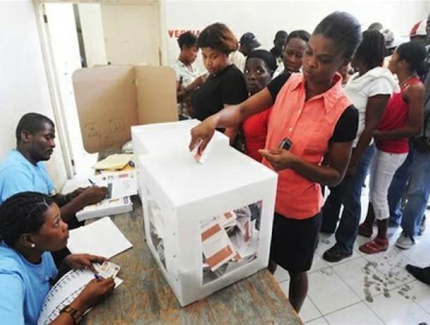 Elecciones en Haití: Gran conflicto