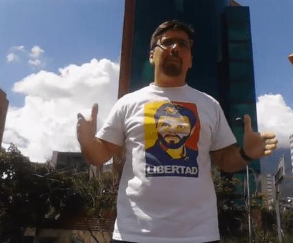 """""""Ustedes abandonan lo que uno hace por ustedes"""", le reclamaron a Guevara sus seguidores."""