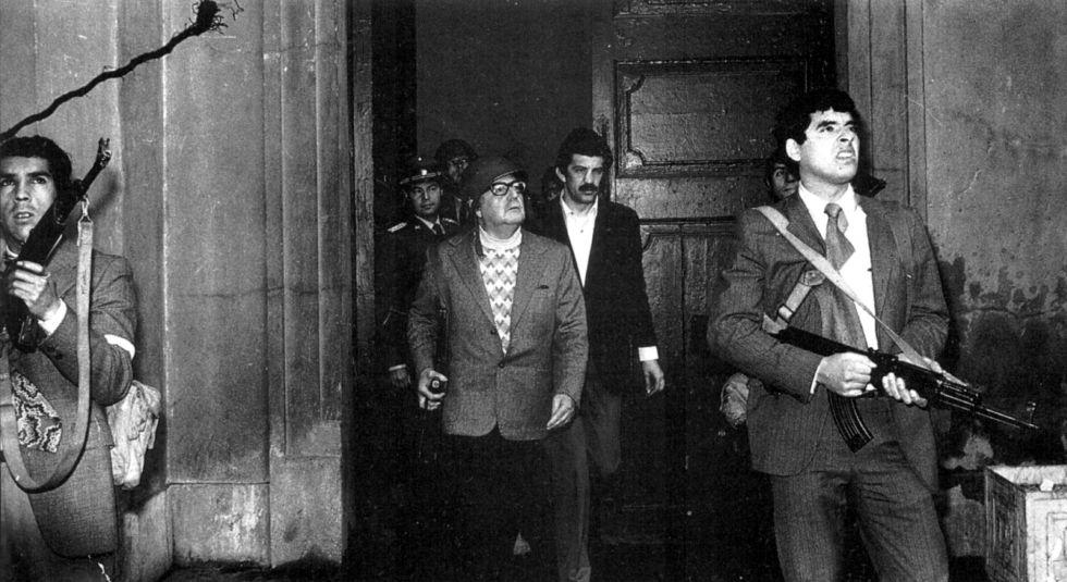 Salvador Allende en los últimos minutos de su vida