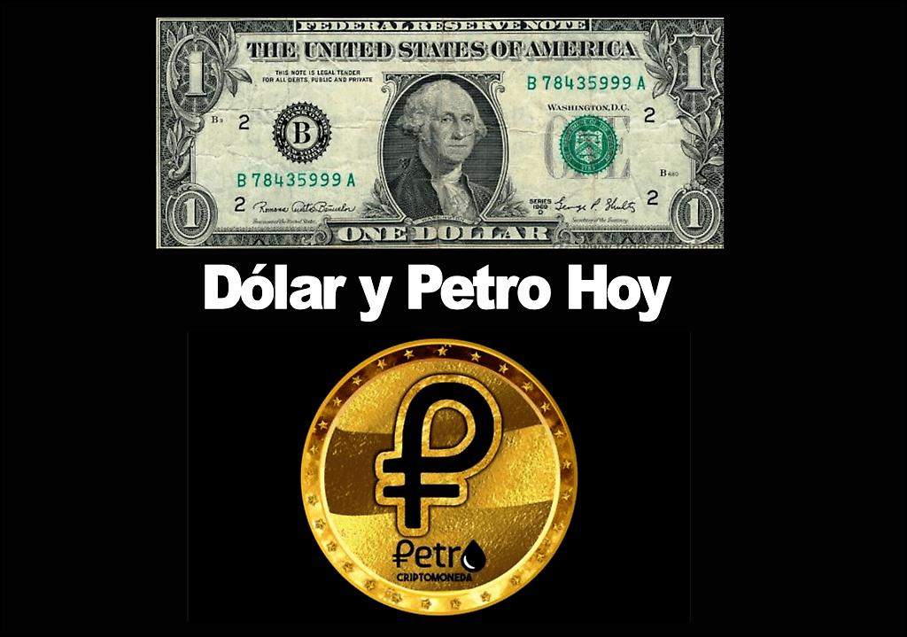 La tasa de cambio del bcv, publicada en la tarde del martes, para hoy,. Dolar Y Petro Hoy Lunes 22 1 00 P M Tasas Oficiales Bcv Del Dolar El Petro Y Dolar Informal En Baja