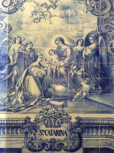 Capela de Santa Catarina pormenor