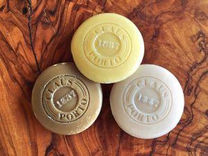 Claus Porto soap guest pastilles close-up