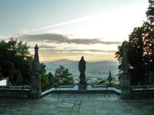 View from the Bom Jesus do Monte sanctuary