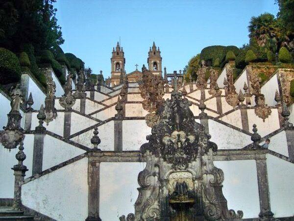 Steps at Bom Jesus do Monte sanctuary