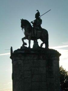 Statue at Bom Jesus do Monte sanctuary