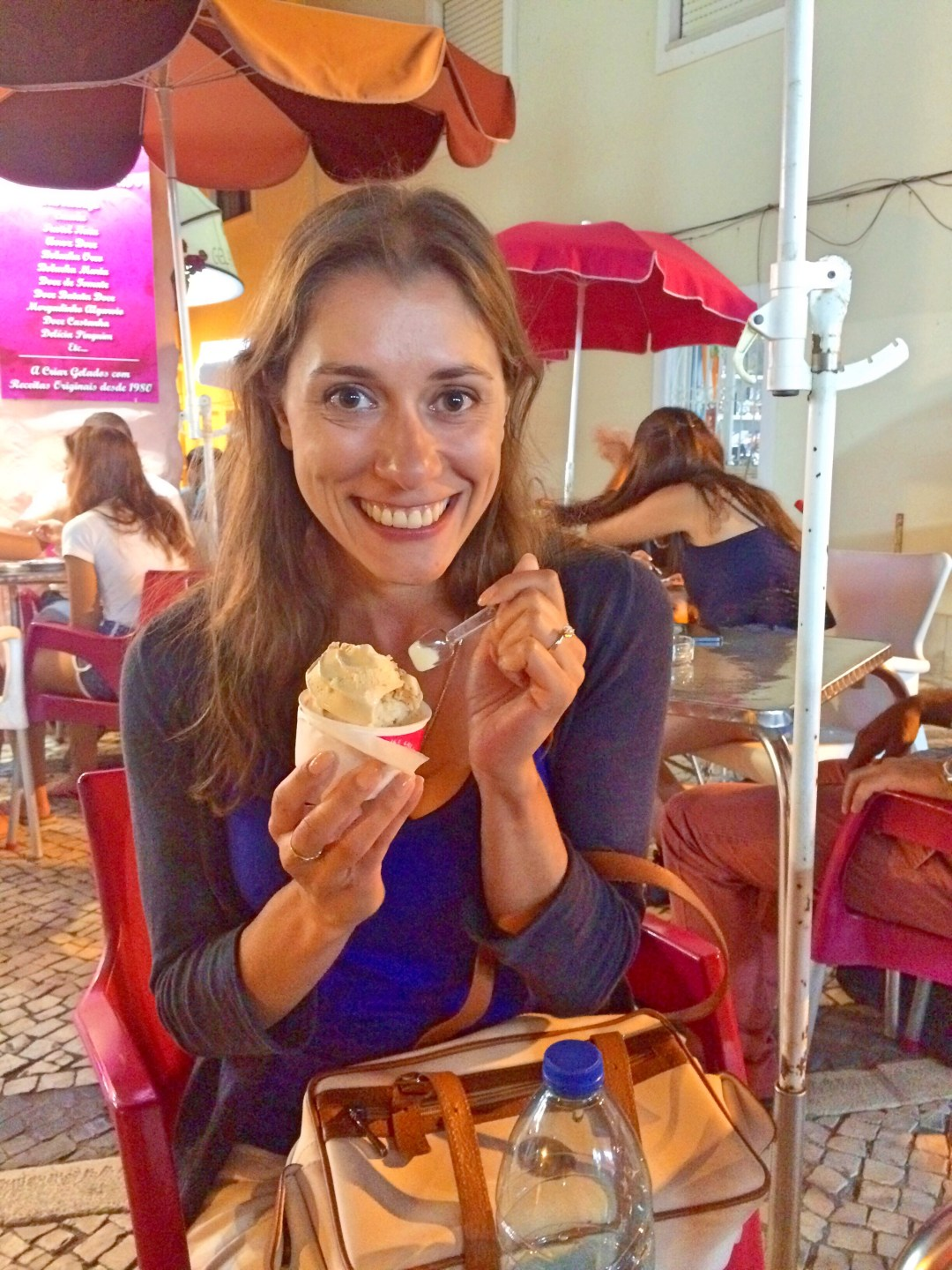 Ice cream in the Algarve