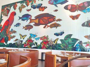 Darwin Cafe wall