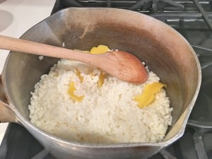 Arroz doce: Step 3