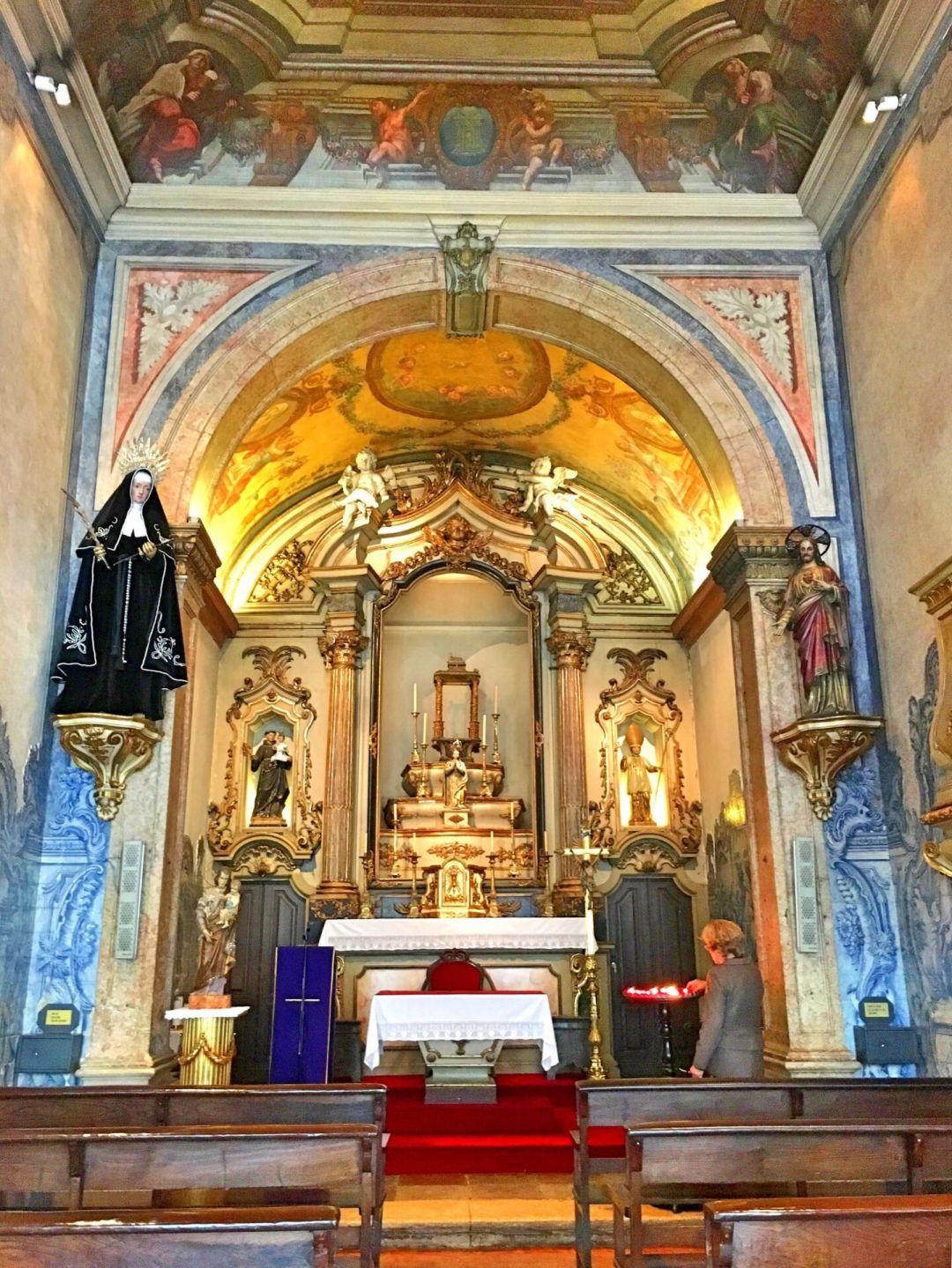 Altar Nossa Senhora da Oliveira
