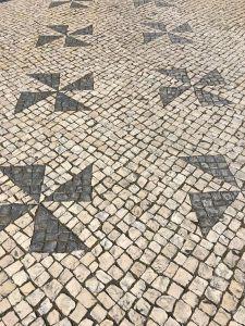 Calcada portuguesa moinhos