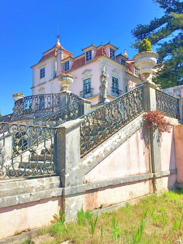 Palacio Marques Pombal back